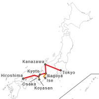 21 giorni in Giappone: itinerari di viaggio consigliati