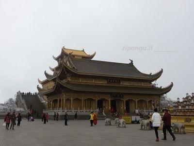 Dove andare e cosa vedere in Cina: Monte Emei, veduta presso Leidongping