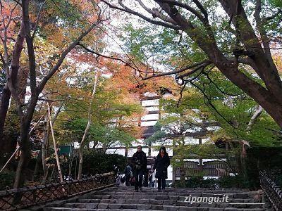 Tempio Ryoan-Ji in autunno