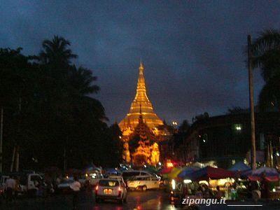 Da visitare in Myanmar: la Pagoda Shwedagon