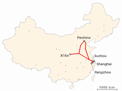 Viaggiare in Cina: itinerario di dieci giorni