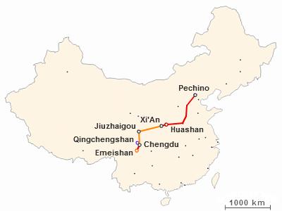 Viaggiare in Cina: itinerario di due settimane