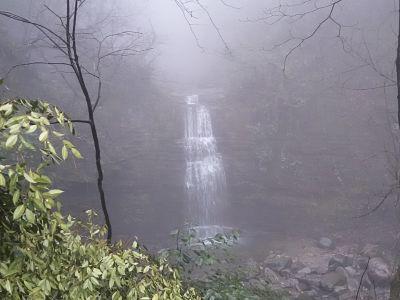 Monte Emei, cascata