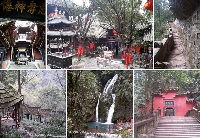 Dove andare in Cina: Monte QingCheng