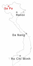 Dove è Sapa in Vietnam