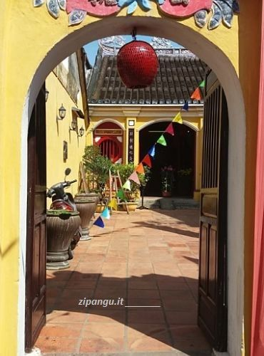 Hoi An, una casa tradizionale vietnamita